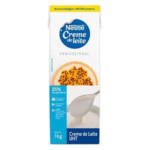Creme de Leite (25% de gordura) 1kg - 01 unidade - Nestlé - Rizzo Confeitaria