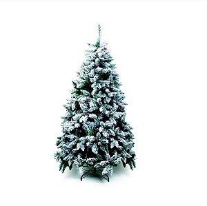 Árvore de Natal Mont Blanc Nevada Verde 1,50m - 01 unidade - Cromus Natal - Rizzo
