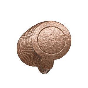 Base para Doce - Rose Gold - 10cm - 20 unidades - UltraFest - Rizzo Confeitaria