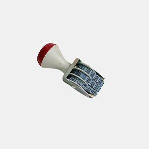 Carimbo Datador Rotativo - Dia/Mês/Ano (2018-2029) - 01 Unidade - Lilipop Carimbos - Rizzo