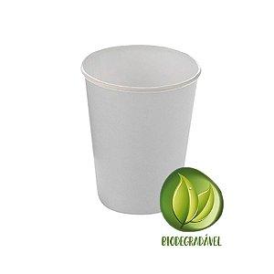Copo Papel Liso Biodegradável 270 ml  - 10 un - Branco - Silver Festas - Rizzo Confeitaria