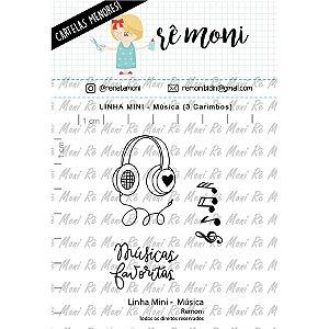 Carimbo Mini Musica Cod 41000042 - 01 Unidade - Lilipop Carimbos - Rizzo
