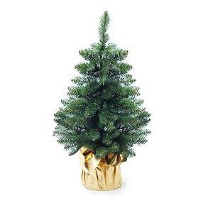 Mini Pinheiro Verde 60cm - 01 unidade - Cromus Natal - Rizzo Confeitaria