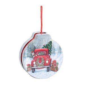 Enfeite para Pendurar Latinha Caminhão de Natal - 01 unidade - Cromus Natal - Rizzo