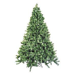 Árvore de Natal Cordoba Verde 2,40m - 01 unidade - Cromus Natal - Rizzo Confeitaria