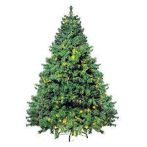 Árvore Cordoba com leds - 180cm - 1 unidade - Cromus Natal -Rizzo Confeitaria