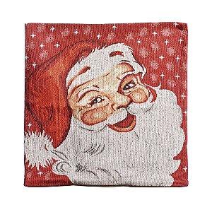 Capa para Almofada Noel 45cm - 01 unidade - Cromus Natal - Rizzo Confeitaria