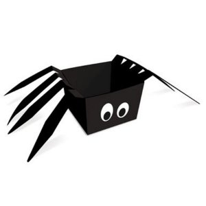 Cachepot Aranha  Halloween 8x8x6 - 8 Unidades - Cromus - Rizzo