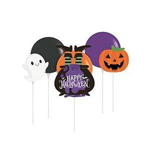 Kit Balão Topo de Bolo  Halloween - 1 Unidades - Cromus - Rizzo