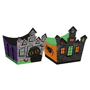 Forminha Cachepot Dia do Terror Halloween 5,5x5,5x6 - 1 Unidades - Cromus - Rizzo
