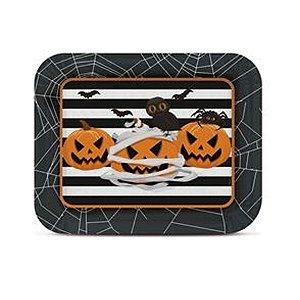 Bandeja Laminada R5 Noite do Terror Halloween - 1 Unidades - Cromus - Rizzo