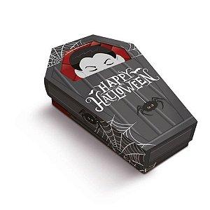 Caixa Especial Caixão Drácula Halloween 8 Unidades - Cromus - Rizzo