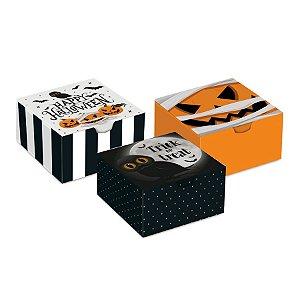 Caixa Diver Noite do Terror Sort 8,5x8,5x3,5cm Halloween 10 Unidades - Cromus - Rizzo