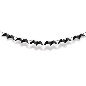 Faixa Decorativa Morcego Preta Halloween 1 Unidades - Cromus - Rizzo