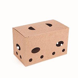 Caixa para Batatas Fritas Kraft - 50 unidades - Cromus Delivery - Rizzo