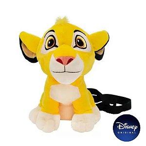 Bolsa Pelúcia Simba Rei Leão 20cm - Disney Original - 1 Un - Rizzo