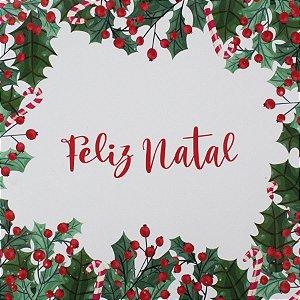 Guardanapo de Papel Feliz Natal 32,5cm - 20 folhas - Cromus Natal - Rizzo