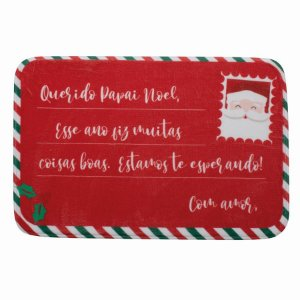 Tapete Carta para Noel 40cm - 01 unidade - Cromus Natal - Rizzo