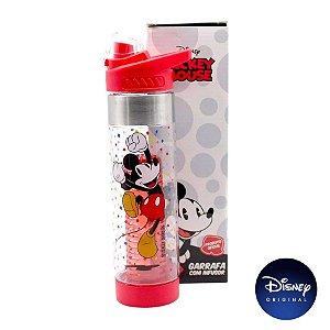 Garrafa C/ Infusor Mickey Mouse - Disney Original - 750ml - 01 Un - Rizzo