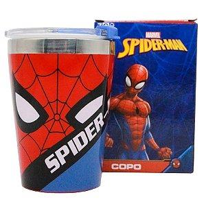 Copo c/ Tampa Homem Aranha Vingadores - 300ml - Marvel Original - 01 Un - Rizzo