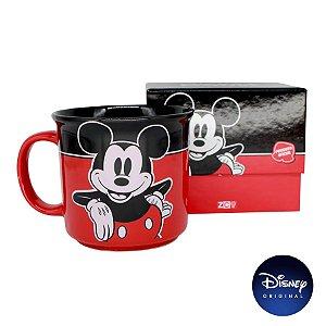 Caneca Mickey Mouse - 350ml - Disney Original - 01 Un - Rizzo