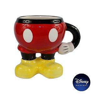 Caneca Enfeite Decorativo Mickey Mouse - 300ml - Disney Original - 1 Un - Rizzo