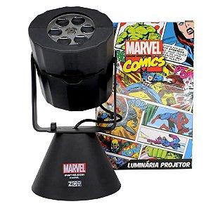 Luminária Projetor Vingadores - Marvel Original - Zona Criativa - 1 Un - Rizzo