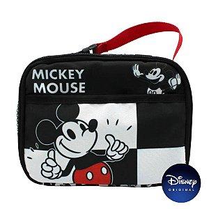 Lancheira Térmica Mickey Mouse Xadrez - Disney Original - Zona Criativa - 01 Un - Rizzo