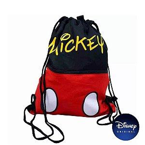 Mochila Saco Mickey Mouse - Disney Original - 01 Un - Rizzo