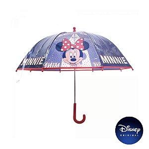 Guarda Chuva Preto e Vermelho Minnie Mouse - Disney Original - 1 Un - Rizzo