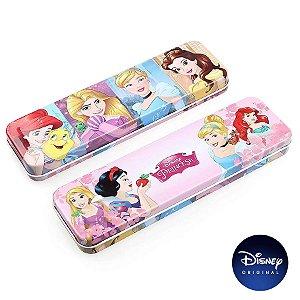 Estojo Metal Disney Princesa - Disney Original - 1 Un - Rizzo