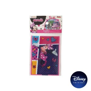 Mini Espelho em Acrílico Minnie Mouse - Disney Original - 1 Un - Rizzo