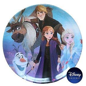 Prato Sem Borda Frozen 2 - 20cm - Disney Original - 1 Un - Rizzo