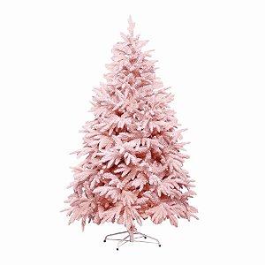 Árvore de Natal Andes Nevada Rosa 120cm - 1un - Cromus Natal - Rizzo
