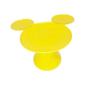 Mesa Amarela P/ Doces Mickey Minnie Mouse - 20x14cm - 1 Un - Rizzo