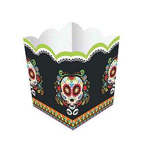 Cachepot Festa Mexicana Dia Dos Mortos - 8 Unidade - Junco - Rizzo