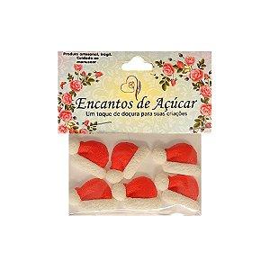 """Confeitos Comestíveis """"Touca Papai Noel"""" - 01 Unidade - Rizzo"""