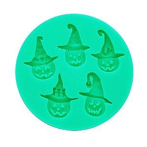 Molde Abobora de Halloween 01 Unidade Prime Chef Rizzo Confeitaria