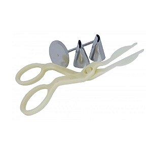 Kit para Fazer Flor - 4pçs - 01 Unidade - Prime Chef Rizzo Confeitaria