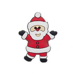 Aplique Papai Noel Silicone - 3,5cm - 4 Un - Artegift - Rizzo