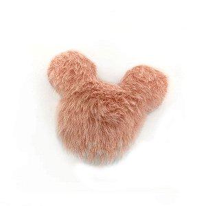 Aplique Urso Pelo Rosa Decorativo - 2 Un - Artegift - Rizzo