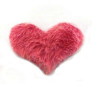 Aplique Coração Pelo Pink Decorativo BIG - 2 Un - Artegift - Rizzo