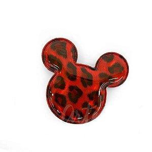 Aplique Urso Vermelho Animal Print Decorativo - 2 Un - Artegift - Rizzo