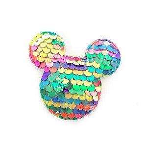 Aplique Urso Paetê Colors - 6,5cm - 2 Un - Artegift - Rizzo