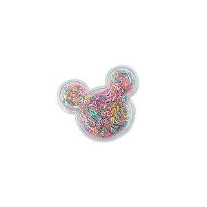 Aplique Urso Incolor Colors - 5cm - 2 Un - Artegift - Rizzo