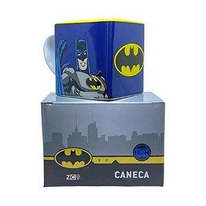 Caneca Quadrada Batman - 300ml - DC Original - 1 Un - Rizzo
