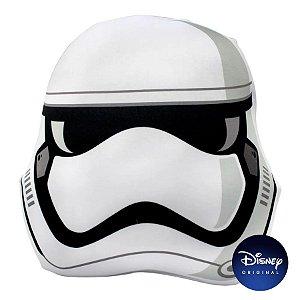 Almofada Microperolas Formato Stormtrooper Star Wars - 35cm - Disney Original - Zona Criativa - 1 Un - Rizzo