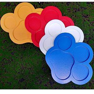R25 - Decoração MDF - Bandeja Pata - Cores Variadas -  01 Unidade - Mara Móveis - Rizzo Festas