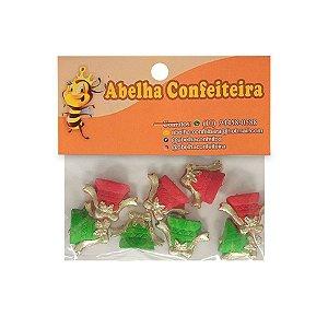 Mini Confeito Sinos Natal - 8 UN - Abelha Confeiteira - Rizzo