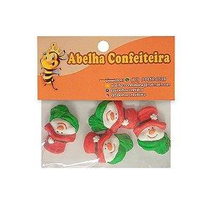 Mini Confeito Natal Boneco de Neve - 4 UN - Abelha Confeiteira - Rizzo